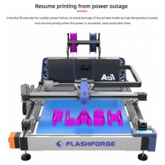 Immagine del prodotto: AD1 600x600x70mm Channel letter 3D Printer FlashForge