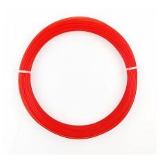PLA Rosso Trasparente - Sample 50g / 17m / 1.75mm